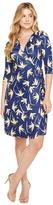 Christin Michaels Khana 3/4 Sleeve Wrap Dress Women's Dress
