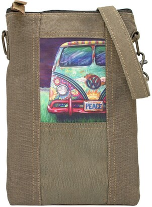Vintage Addiction VW Peacemobile Tent Crossbody
