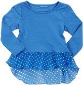 LAmade Kids Scoop Neck Tee (Toddler/Kid) - Breezy Blue-6x