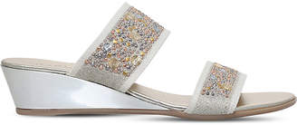 Carvela Comfort Stella studded wedge sandals