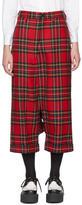 Junya Watanabe Red Tartan Low Trousers