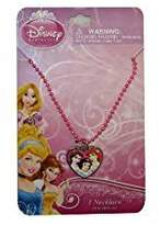 Disney Princess Baby Girls Dress Up Accessory - Heart Bead Necklace