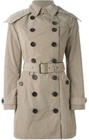 Burberry 'Balmoral' belted trench coat - women - Polyester/Cupro - 4