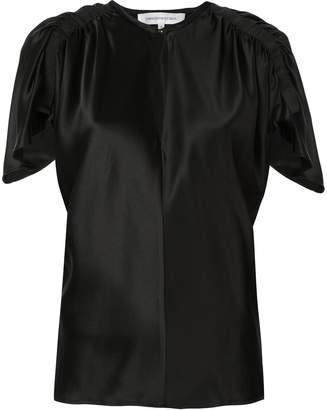 CHRISTOPHER ESBER ruched detail blouse