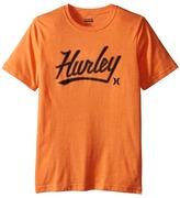 Hurley Short Sleeve Retreat Tee (Big Kids)