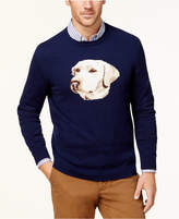 Club Room Men's Intarsia Labrador Sweater, Created for Macy's