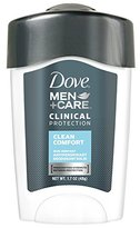 Dove Men+Care Clinical Protection Antiperspirant Deodorant, Clean Comfort 1.7 oz