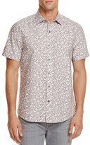 Michael Bastian Bubble Camouflage Regular Fit Button-Down Shirt