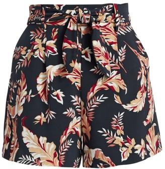 Joie Varsha Printed Paperbag Shorts