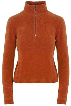 Paloma Wool Baco Half-Zip V-Neck Sweater