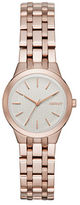 DKNY Park Slope Rose Goldtone Stainless Steel Link Bracelet Watch, NY2492