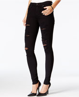 A Gold E Sophie Ripped Moonstruck Wash Skinny Jeans