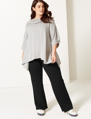 Marks and Spencer CURVE Cotton Straight Leg Joggers