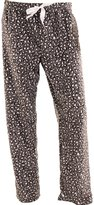 Global Women's Fleece Printed Pajama Pants
