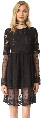 Somedays Lovin Women's Crystal Visions Lace Dress