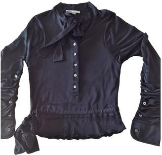 Antonio Berardi Black Silk Top for Women