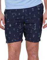 Nautica Anchor Print Shorts
