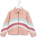 Stella McCartney striped jacket - kids - Cotton/Spandex/Elastane - 10 yrs