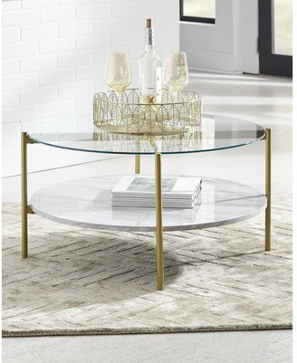 Signature Design by Ashley Wynora Round Cocktail Table