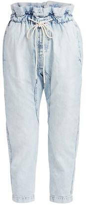 Bassike Drawstring Paperbag Jeans