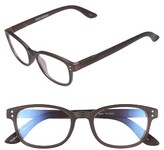 Corinne McCormack Women's Colorspex 50Mm Blue Light Blocking Reading Glasses - Black