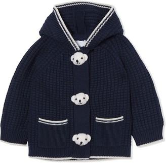 BURBERRY KIDS Thomas Bear hooded jacket