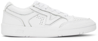 Vans White Leather Lowland CC Sneakers