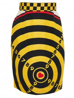 Moschino Yellow Skirt for Women Vintage