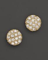Bloomingdale's Dana Rebecca Designs 14K Yellow Gold Diamond Lauren Joy Mini Earrings