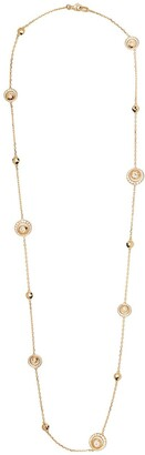 David Morris 18kt rose gold diamond Rose Cut Forever Sautoir necklace