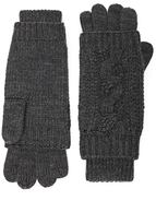 Forever 21 FOREVER 21+ Cable-Knit Gloves