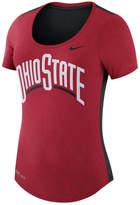 Nike Women's Ohio State Buckeyes Dri-FIT Scoop T-Shirt