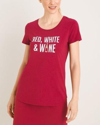 Zenergy Red White Wine Tee