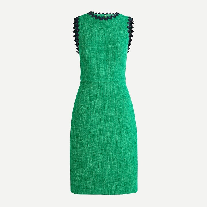 Thumbnail for your product : J.Crew Petite sheath dress in textured tweed