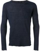 Roberto Collina patch pocket jumper - men - Cotton - 50