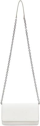 Maison Margiela White Chain Wallet Bag