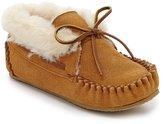 Minnetonka Charley Girls Faux Fur-Lined Booties