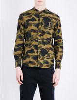 A Bathing Ape Camouflage cotton shirt