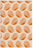 Simrin Orange Dish Towel