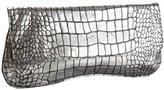 Luxe Croc-Embossed Eden Clutch