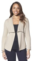 Merona Women's French Terry Layering Jacket - Assorted Colors