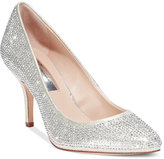 INC International Concepts Zitah Pointed Toe Rhinestone Evening Pumps, Created for Macy's Women's Shoes