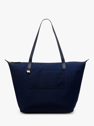 Radley Pocket Essentials Fabric Large Zip Top Tote Bag
