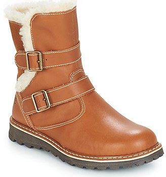 Citrouille et Compagnie JOBI girls's Mid Boots in Brown