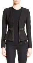 Versace Women's Bar Detail Cady Jacket