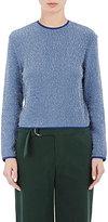 Nomia Women's Shrunken Sweater-BLUE