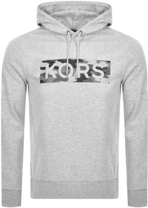 Michael Kors Camouflage Logo Hoodie Grey