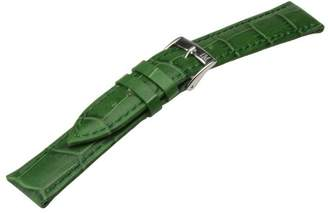 Morellato Leather Strap for Unisex Bolle Green 12 mm A01X2269480075CR12