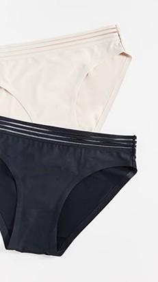 Real Underwear Fusion Microfiber Hipster Panties 2 Pack