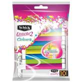 Schick Exacta 2 Colours for Women 10 pack